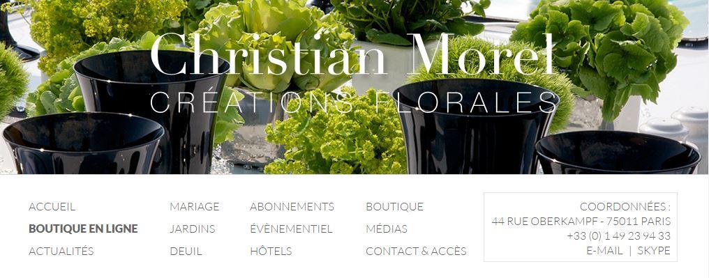 Site fleuriste en ligne l 39 atelier des fleurs for Fleuristes en ligne