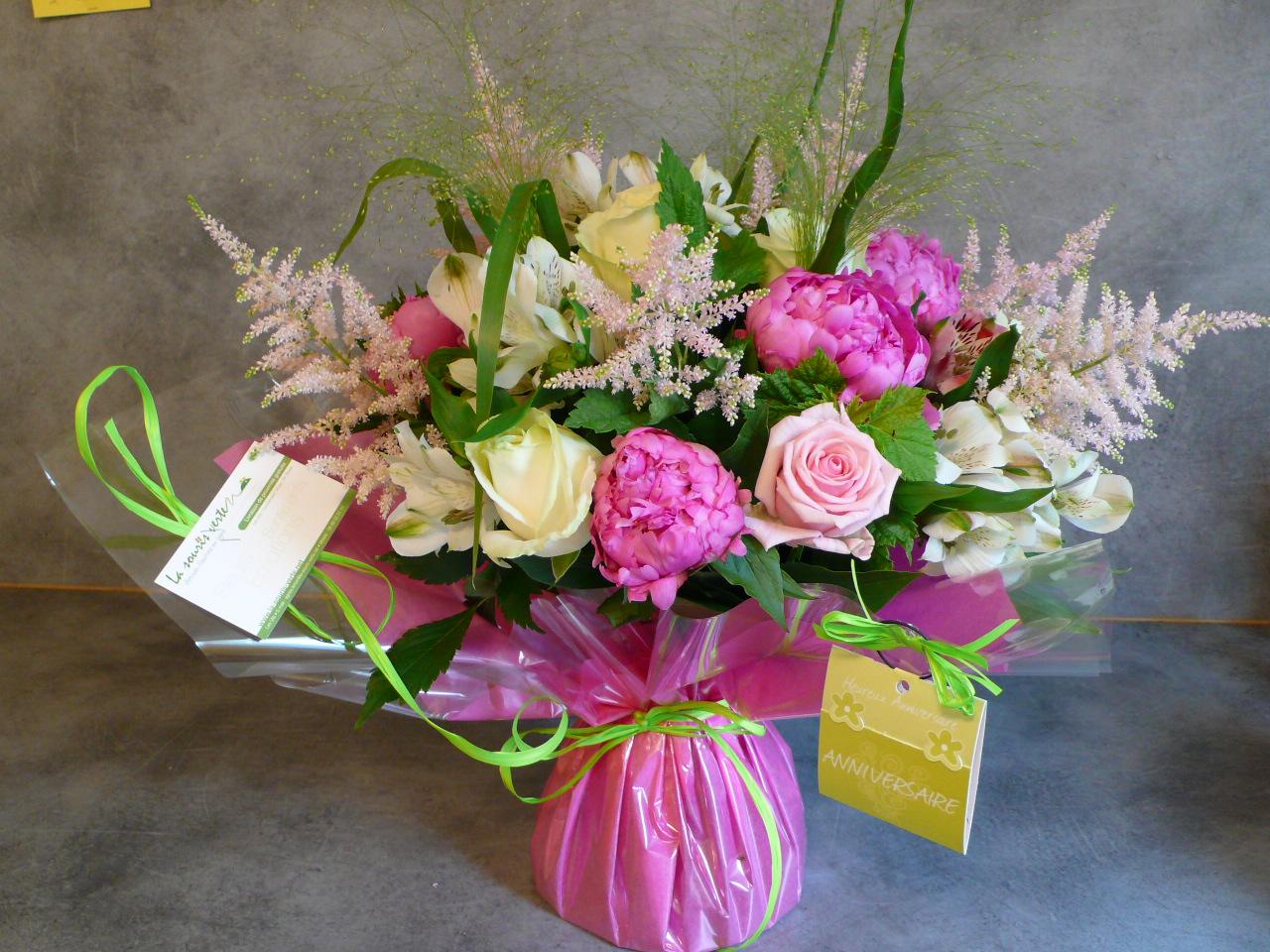 Bouquet fleuriste l 39 atelier des fleurs for Bouquet de fleurs humour