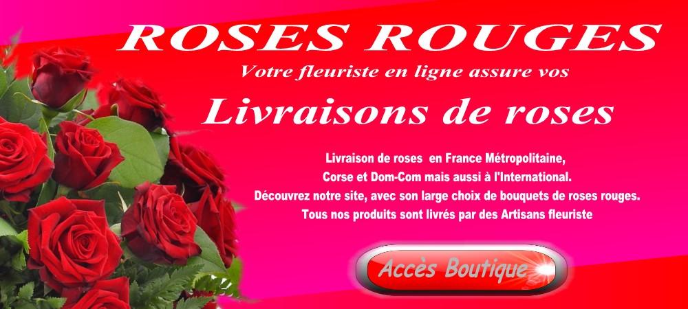 envoyer des roses rouges l 39 atelier des fleurs. Black Bedroom Furniture Sets. Home Design Ideas