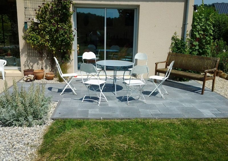 Modele de terrasse exterieur l 39 atelier des fleurs for Photo amenagement terrasse exterieur