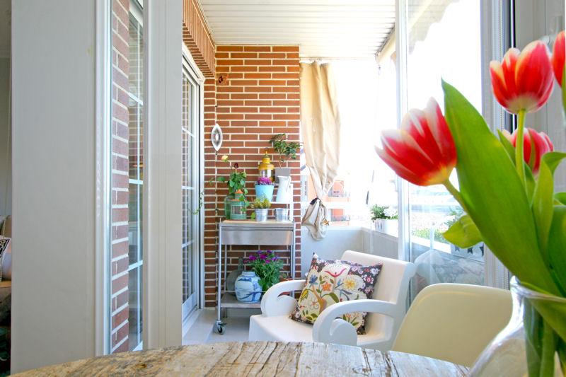 Am nager une loggia balcon l 39 atelier des fleurs for Idee deco balcon 8m2