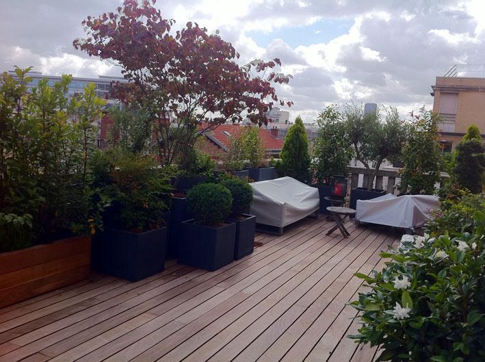 terrasse balcon am nagement paysager l 39 atelier des fleurs
