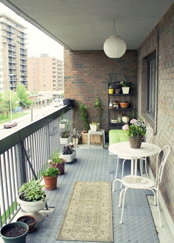 Deco Balcon Moderne - L'Atelier Des Fleurs