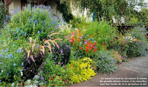 Massif de plantes vivaces l 39 atelier des fleurs - Massif de fleurs vivaces ...
