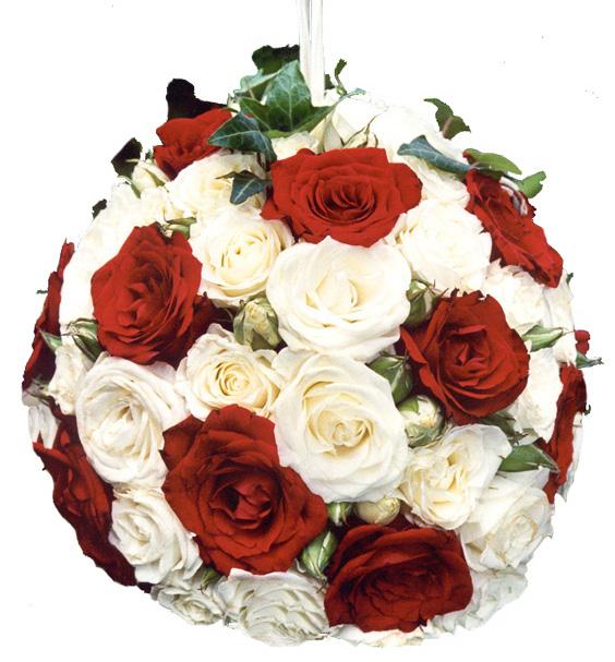bouquet rose rouge et blanche l 39 atelier des fleurs. Black Bedroom Furniture Sets. Home Design Ideas
