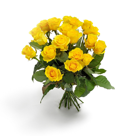 Bouquet de roses jaunes l 39 atelier des fleurs for Bouquet de fleurs jaunes