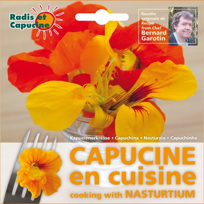fleur comestible capucine l 39 atelier des fleurs. Black Bedroom Furniture Sets. Home Design Ideas