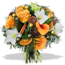 Livraison fleurs noel domicile l 39 atelier des fleurs for Bouquet pas cher livraison gratuite