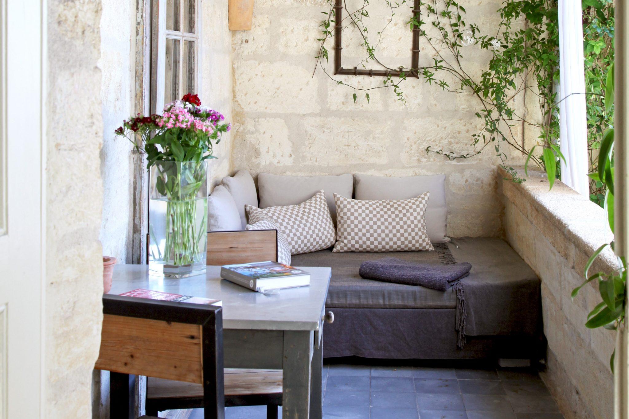 Idee pour fermer un balcon - l\'atelier des fleurs