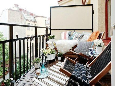 comment am nager son balcon l 39 atelier des fleurs. Black Bedroom Furniture Sets. Home Design Ideas