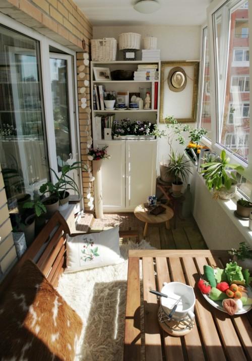 amenager loggia l 39 atelier des fleurs. Black Bedroom Furniture Sets. Home Design Ideas
