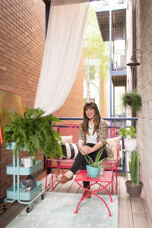 amenager petit balcon appartement l 39 atelier des fleurs. Black Bedroom Furniture Sets. Home Design Ideas