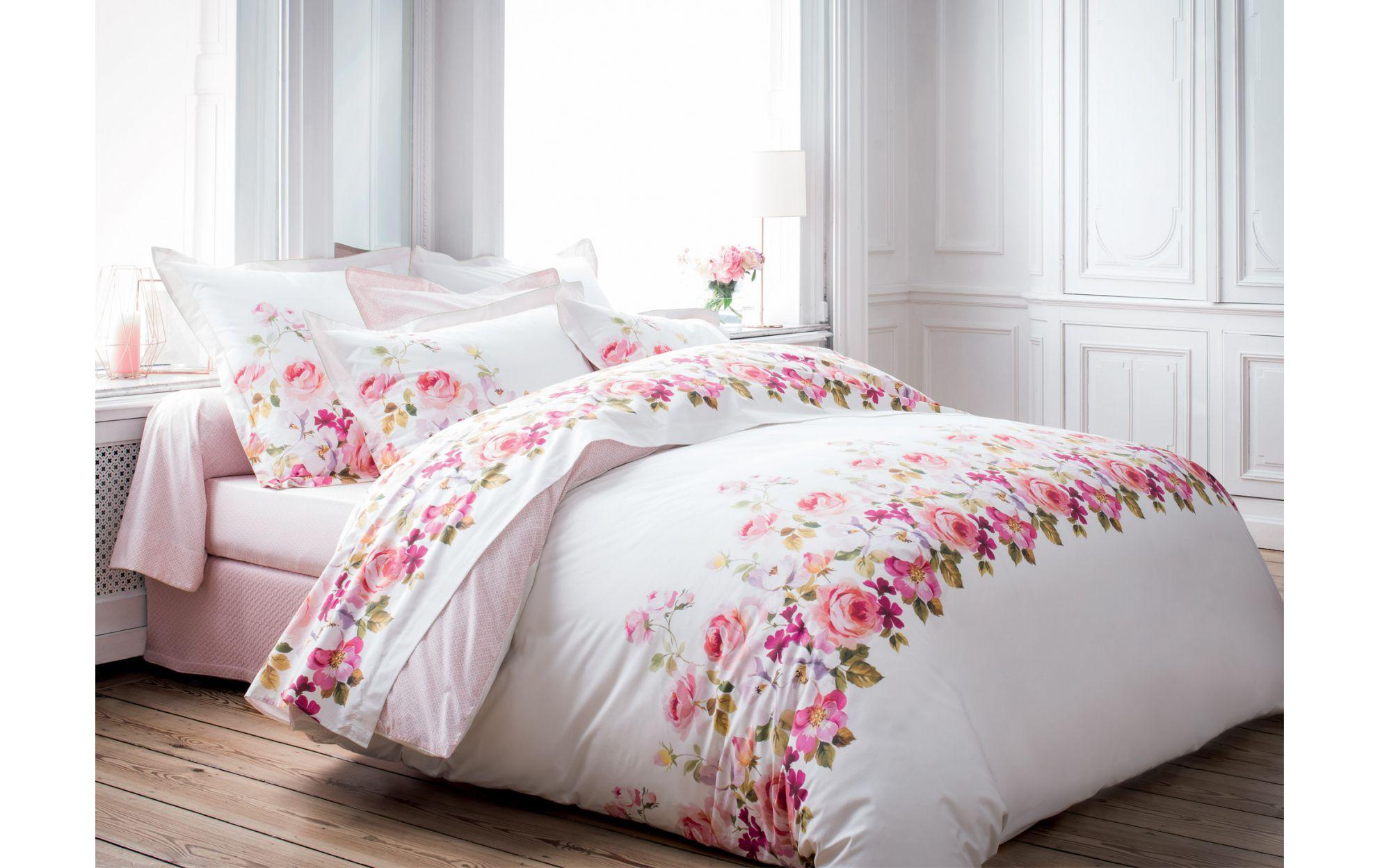 housse de couette fleurie l 39 atelier des fleurs. Black Bedroom Furniture Sets. Home Design Ideas