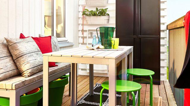 am nager son balcon d appartement l 39 atelier des fleurs. Black Bedroom Furniture Sets. Home Design Ideas