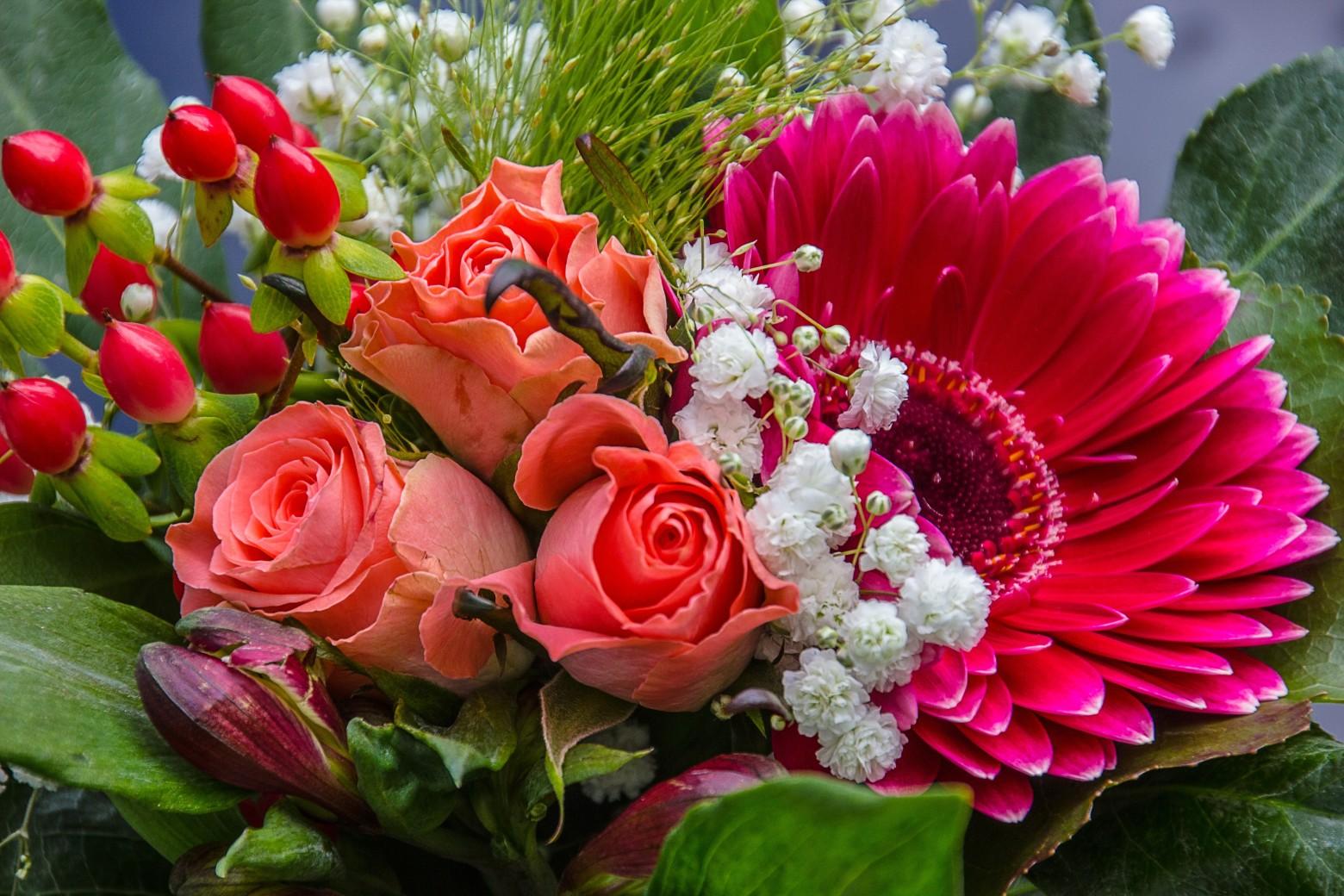 Bouquets de fleurs images gratuites - l'atelier des fleurs