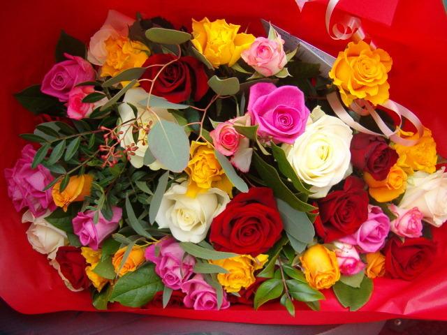 magnifique bouquet de fleurs l 39 atelier des fleurs. Black Bedroom Furniture Sets. Home Design Ideas